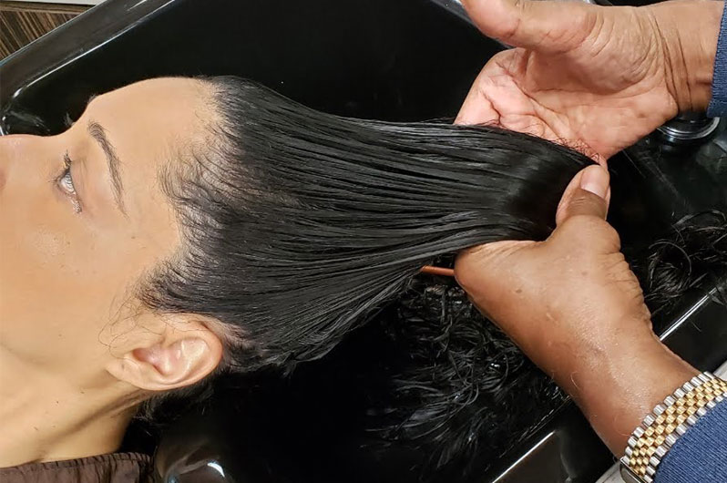 George's Hair Fashions East Hair Relaxing